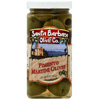 Santa Barbara Olive Co. Martini Pimento Stuffed Olives, 5 oz (Pack of 6)