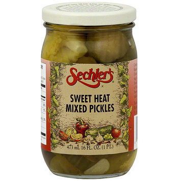 Sechlers Sechler's Sweet Heat Mixed Pickles, 16 oz (Pack of 6)