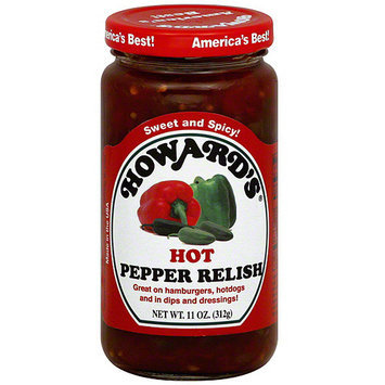 Howard's Hot Pepper Relish, 11 oz (Pack of 6)