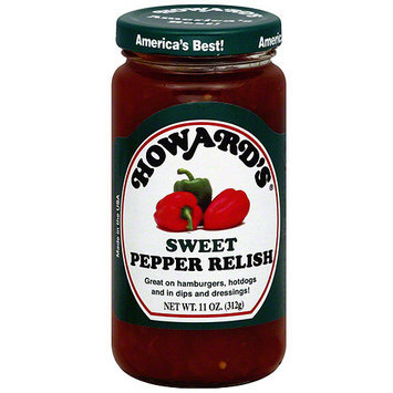 Howard's Sweet Pepper Relish, 11 oz (Pack of 6)