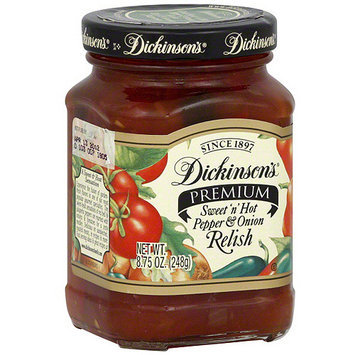 Dickinsons Dickinson's Sweet N Hot Pepper And Onion Relish, 8.75 oz (Pack of 6)
