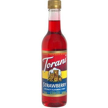 Torani Strawberry Syrup, 12.7 oz (Pack of 6)