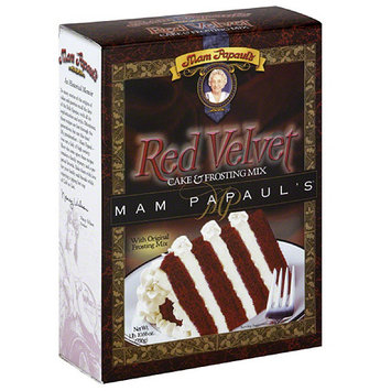 Mam Papaul's Red Velvet Cake & Frosting Mix, 29 oz (Pack of 6)