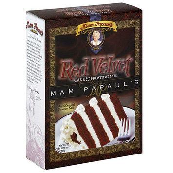 Mam Papaul's Red Velvet Cake & Frosting Mix, 29 oz (Pack of 6)