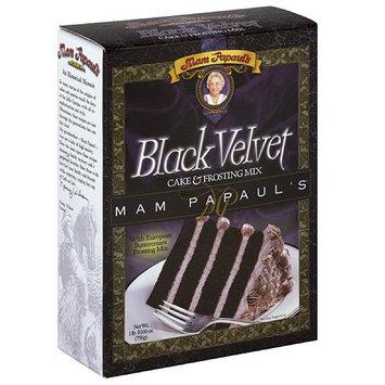 Mam Papaul's Black Velvet Cake & Frosting Mix, 26.7 oz (Pack of 6)