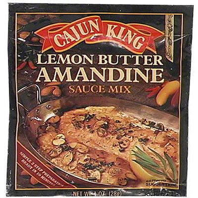 Cajun King Lemon Butter Amandine Sauce Mix, 1 oz (Pack of 24)