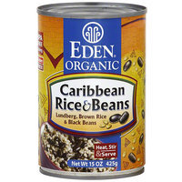 Eden Organic Caribbean Rice & Beans, 15 oz (Pack of 12)
