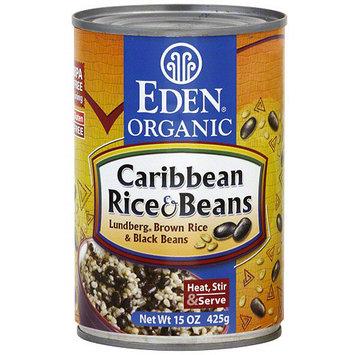 Eden Organic Caribbean Rice & Beans, 15 oz (Pack of 12)