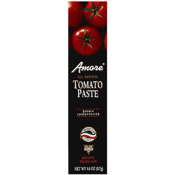 Amore Italian Tomato Paste, 4.5 oz (Pack of 12)
