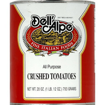 Dell Alpe Dell'Alpe Crushed Tomatoes, 28 oz (Pack of 12)