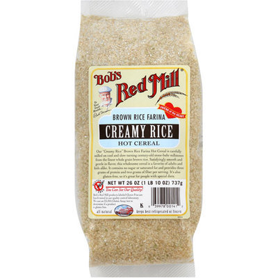 Bob's Red Mill Creamy Rice Hot Cereal, 26 oz (Pack of 4)
