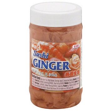 JFC International Inc. Sushi Ginger, 11.5 fl oz, (Pack of 12)