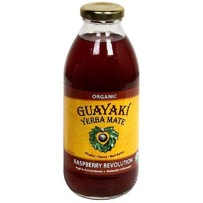 Guayaki Organic Yerba Mate Pure Heart Dietary Supplement, 16 fl oz, (Pack of 12)
