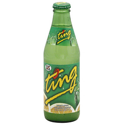 Ting Carbonated Beverage from Grapefruit Concentrate, 9.6 oz (Pack of 24)