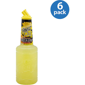 Finest Call Sweet & Sour Mixer, 33.8 oz, (Pack of 6)