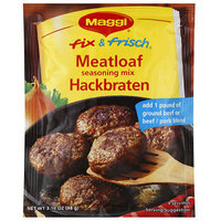 Maggi Fix & Frisch Meatloaf Seasoning Mix, 3.1 oz, (Pack of 12)