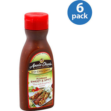 Annie Chun's Korean Sweet & Spicy Gochujang Sauce, 10 oz, (Pack of 6)