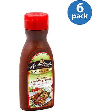 Annie Chun's Korean Sweet & Spicy Gochujang Sauce, 10 oz, (Pack of 6)