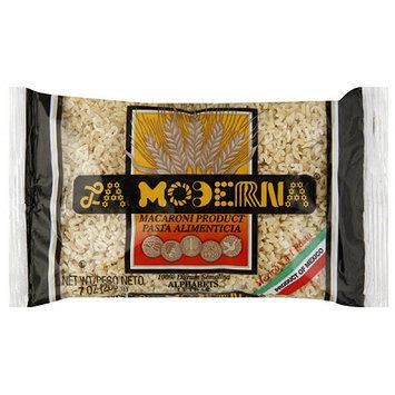 La Moderna Alphabets Pasta, 7 oz, (Pack of 20)