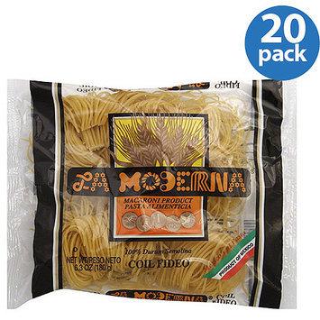 La Moderna Coil Fideo Pasta, 6.3 oz, (Pack of 20)