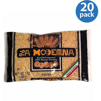 La Moderna Stars Pasta, 7 oz, (Pack of 20)
