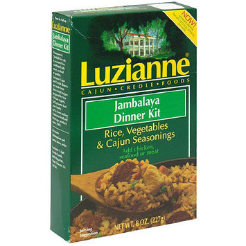 Luzianne Jambalaya Dinner Kit, 8 oz, (Pack of 6)