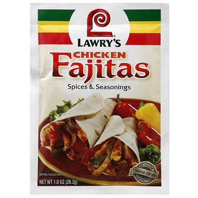 Lawry's Chicken Fajitas Spice & Seasonings, 1 oz, (Pack of 12)