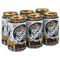 Hansen's Diet Creamy Root Beer Soda, 72 fl oz, (Pack of 4)