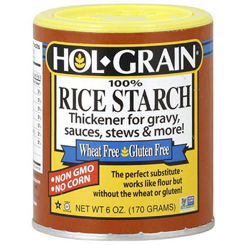 Hol Grain Hol-Grain 100% Rice Starch, 6 oz, (Pack of 6)