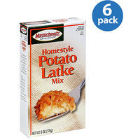 Manischewitz Homestyle Potato Latke Mix, 6 oz, (Pack of 6)