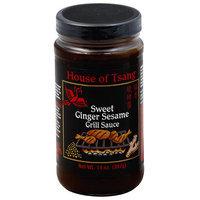 House of Tsang Sweet Ginger Sesame Grill Sauce, 14 oz, (Pack of 6)