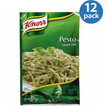 Knorr Pesto Sauce Mix, 0.5 oz, (Pack of 12)