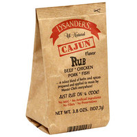 Lysander's Cajun Flavor Meat Rub, 3.8 oz, (Pack of 6)