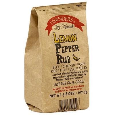 Lysander's Lemon Pepper Meat Rub, 3.8 oz, (Pack of 6)