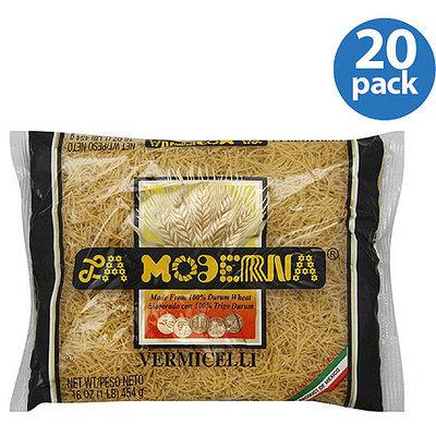 La Moderna Vermicelli Pasta, 16 oz, (Pack of 20)