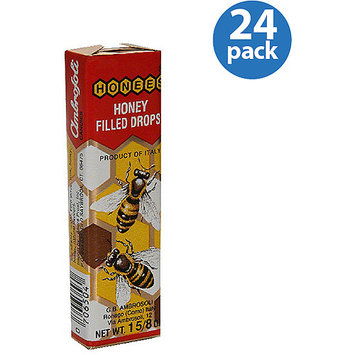 Honees Honey Filled Drops, 1.6 oz, (Pack of 24)