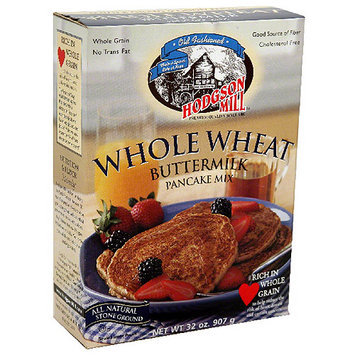 Hodgson Mill Whole Wheat Buttermilk Pancake Mix, 32 oz, (Pack of 6)