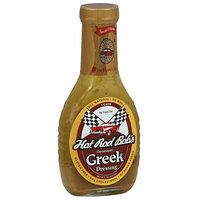 Hot Rod Bob's Gourmet Greek Dressing, 8 fl oz, (Pack of 6)