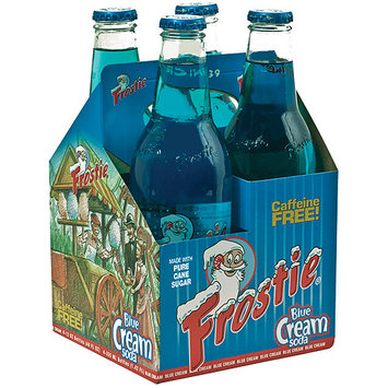 Frostie Blue Cream Soda, 12 fl oz, 4 ct. (Pack of 6)