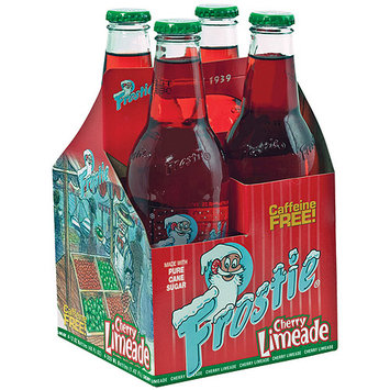 Frostie Cherry Limeade Soda, 12 fl oz, 4 ct. (Pack of 6)