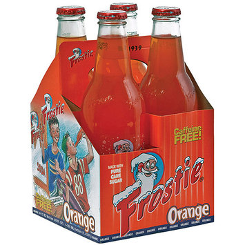 Frostie Orange Soda, 12 fl oz, (Pack of 6)