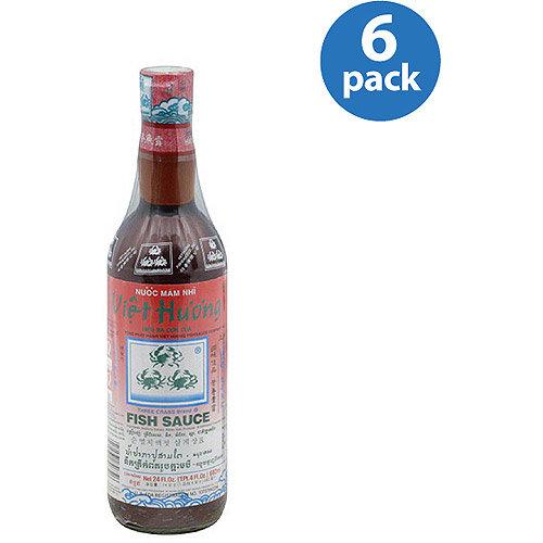 Jfc Viet Hu'o'ng Fish Sauce, 24 oz (Pack of 6)