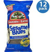 Garden of Eatin' Sesame Blues Tortilla Chips, 7.5 oz (Pack of 12)