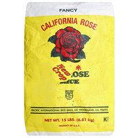 California Rose Fancy Calrose Rice, 15 lbs