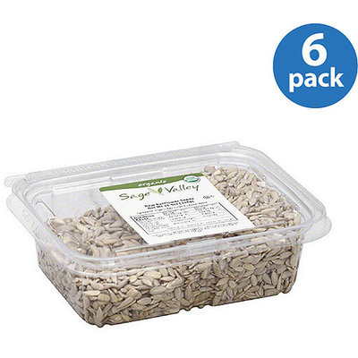 Sage Valley Raw Sunflower Seeds, 11.5 oz (Pack of 6)