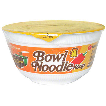 Nong Shim Nongshim Spicy Chicken Flavor Noodle Soup Bowl, 3.03 oz (Pack of 12)
