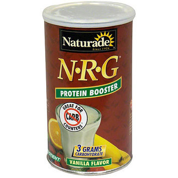 Naturade N*R*G Vanilla Flavor Protein Booster, 15 oz