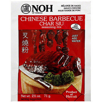 NOH of Hawaii Chinese Barbecue Seasoning Mix, 2.5 oz, (Pack of 12)