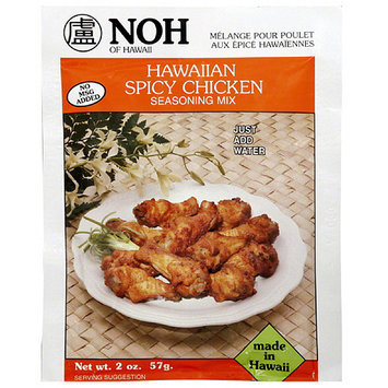 NOH of Hawaii Spicy Chicken Seasoning Mix, 2 oz, (Pack of 12)