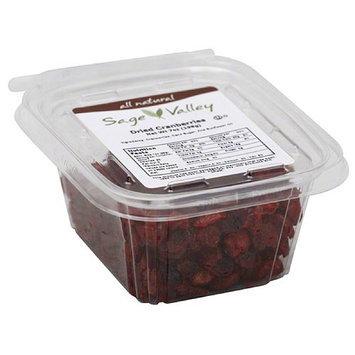 Sage Valley Dried Cranberries, 7 oz (Pack of 6)